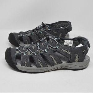 Khombu River Sandal Grey Size 7